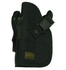 Black Left Hand Nylon Handgun Pistol Belt Holster - 1911 Glock 17 40 45 M9