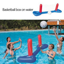 Inflatable Water Floating Volleyball Net Adult Children Swimming Pool Game Toy