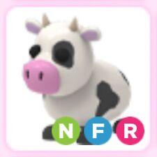 Roblox Adopt Me Neon Fly Ride Cow NFR (Read Description)