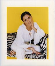 Salma Hayek Breathtaking Vivid Color original Photo Agency Stamped Portrait 1997