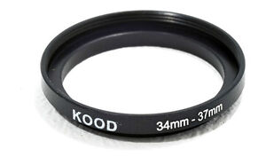 34mm-37mm 34-37  Stepping Ring Filter Ring Adapter Step up