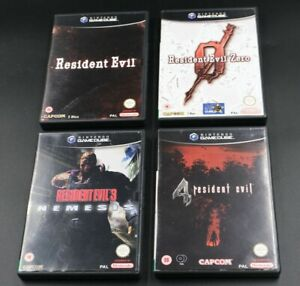 Resident Evil Bundle - 4 x Games for Nintendo Gamecube with Manuals VGC PAL