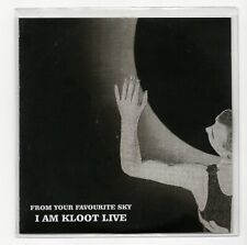 (IV206) I Am Kloot, From Your Favourite Sky (Live) - 2015 DJ CD