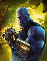 Marvel Thanos - Infinity War Superhero Movie Villain Wall Art Canvas Pictures