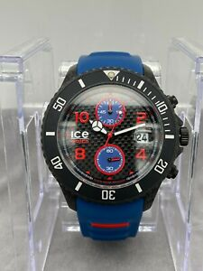 Ice Watch Carbon Black-Blue CA.3H.BBE.B.S.15  RRP $199
