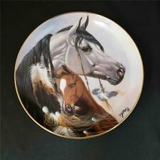 "= Danbury Mint Gift For A Princess Heritage Of Horses 8"" Plate 1994 H1426"
