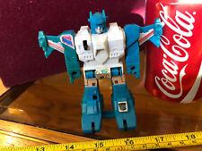 Transformers Raro Hasbro 1980 1984 Tire hacia atrás y Go G1 Top Spin Original