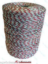 POLY WIRE 500M PREMIUM 9 STRAND ELECTRIC FENCE POLYWIRE