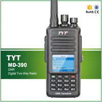 IP67 Water-proof Walkie Talkie TYT MD-UV390 GPS Dual Band Digital DMR Radio