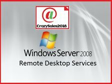Windows Server 2008 R2 Remote Desktop Services RDS 20 User Cal's License Key!+!@