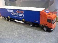 1/87 Herpa Scania R09 van Dieren NL Gardinenplanen-Sattelzug 157940