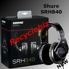 Shure SRH840 NEW IN BOX Professional Monitoring Headphones IN STOCK Free US Ship