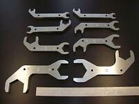 AN Combination Alum Wrench Set 8 Dbl Side , AN3/AN4/AN6/AN8/AN10/AN12/AN16/AN20