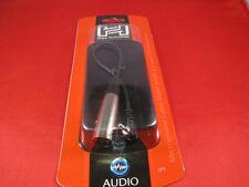 Hosa XVM101M Angle TRS 3.5mm 1/8 Stereo Mini to XLR Male 1'