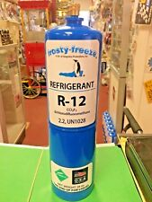 "R12, Refrigerant 12, Virgin Pure R-12, 28 oz. Disposable Can, 1/4"" Male Flare"
