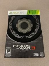 GEARS OF WAR 3 LIMITED EDITION MICROSOFT XBOX 360 BRAND NEW SEALED!