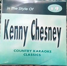 KENNY CHESNEY CDG KARAOKE COUNTRY CLASSICS CKC #9 CD+G NEW MUSIC TIN MAN DREAMS