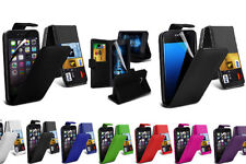 Googles Leather Mobile Phone Flip Cases
