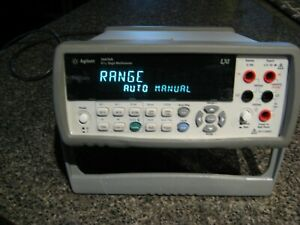 Agilent 34410A High Performance Digital Benchtop Multimeter 6.5 Digit No Probes