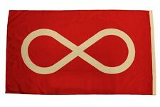 Metis Red First Nations Large 3' X 5' Feet Flag Banner.New