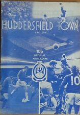HUDDERSFIELD TOWN v CAMBRIDGEUNITED 76-77 APRIL 12th  LEAGUE MATCH