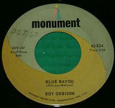 "Roy Orbison ""Mean Woman Blues/Blue Bayou"" VINYL 7"" Single - 1963, 45-824 Vg+"