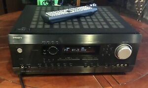 INTEGRA ONKYO DTR 5.5 SURROUND SOUND AUDIO VIDEO 7.1 STEREO RECEIVER