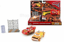 SFK Disney Pixar Cars 3 Crazy 8 Crashers Pushover & Lightning McQueen Set