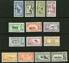 Falkland Islands  1952  Scott #107-120  Mint Never Hinged Set