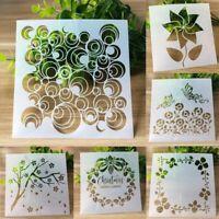Stencils DIY Walls Painting Craft Layering Mandala Bullet Album Embossing Stencl