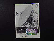postcard Belgium Satellite Space Arbefil Kibboets Brugge Lessive L'antenne 1979