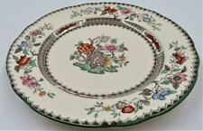 """Copeland Spode CHINESE ROSE 629599 Green Trim Floral, Salad Plate, 7 3/4"""""""