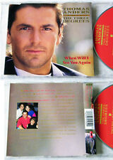 THOMAS ANDERS When Will I See You Again . 1993 Polydor Maxi CD TOP
