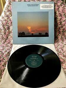 SHANKAR VINYL song for everyone LP ECM 1985 PROMO 1st Press INDIAN FUSION Exc