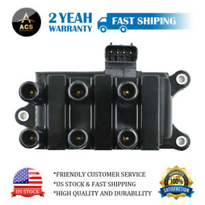 Ignition Coil  for Ford F-150 E-150 Ranger Freestar Taurus Mustang  Mazda 6Cyl