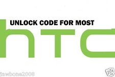 UNLOCK CODE   HTC PHONES TMOBILE ATT HTC M8 M7 L9 G2 G3 601 510 ONE V S X