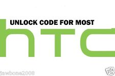 UNLOCK CODE MOST HTC PHONES TMOBILE ATT HTC M8 M7 L9 G2 G3 601 510 ONE V S X