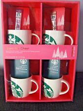 Starbucks Mug Gift Set Holiday Christmas Birthday Coffee Collect Mermaid 14 oz