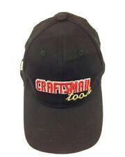 Craftsman Tools Advertising Black Hat Adjustable 3D Embroidery