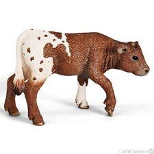Schleich Texas Longhorn Calf Farm Animal Plastic Toy