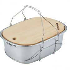 NEW Stainless Steel Carrying Field Kitchen Sink UNIFLAME Import from Japan