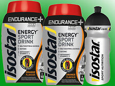 (16,77€/kg)   2 Dosen Isostar Long Energy Orange a 790g  + Trinkflasche 500ml