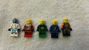 LEGO 71756 NINJAGO COLE, JAY, KAI, LLOYD, ZANE MINIFIGURES