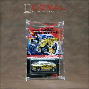 Coval Displays HDR-101 Case for Single Carded RLC and Mainline Hot Wheels