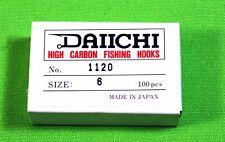 Daiichi Fly Tying Hooks 100 Scud Pupa Nymph Grubs San Juan Worms Trout