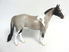 FERGUS-LE-15 GORGEOUS GRULLA PAINT ISH MODEL HORSE