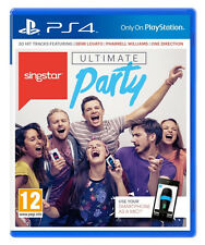 SingStar Ultimate Party (Sony PlayStation 4, 2014)