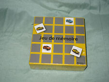 AC644 RENAULT JEU DE MEMOIRE JEU RENAULT Ref 510-041 PUB PUBLICITAIRE NEUF