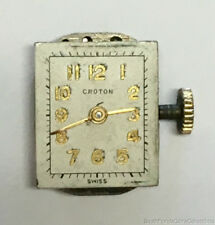Croton Watch Movement 17 Jewels Cal A 6A C778 Parts or Repair