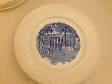 "COLLEGE OF NOTRE DAME OF MARYLAND 1 WEDGEWOOD DINNER PLATE ""COLLEGE HALL"" 10.5"""